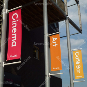 Outdoor Vertical Street Banner Flags