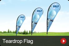 Teardrop Flag Banners