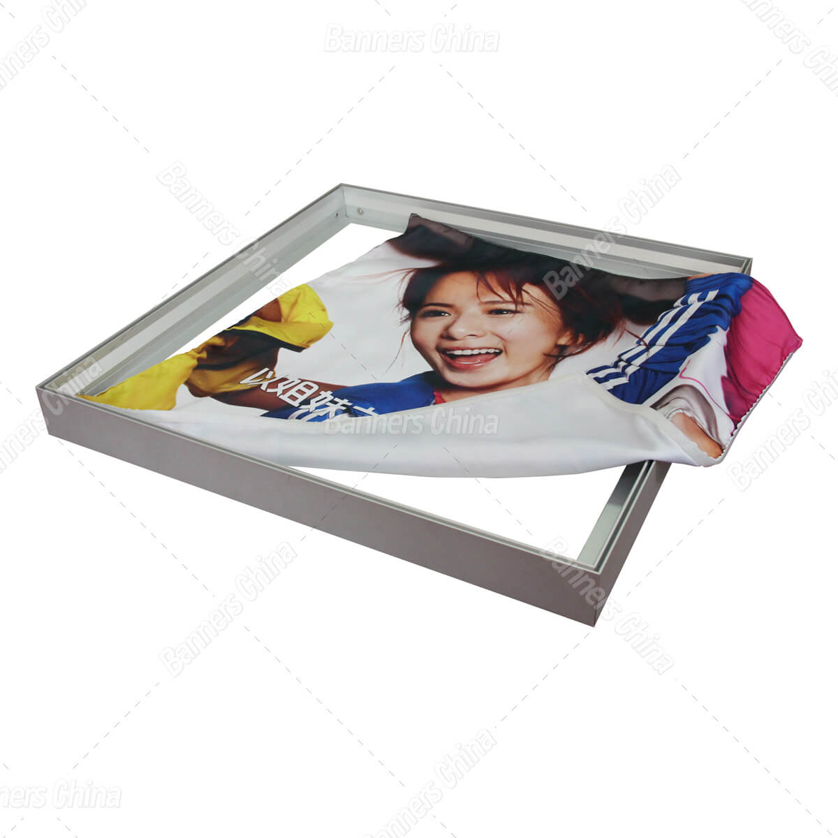 Wall Mounted Tension Fabric Frame