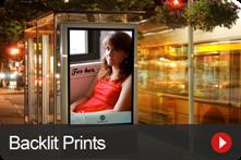 Backlit Prints